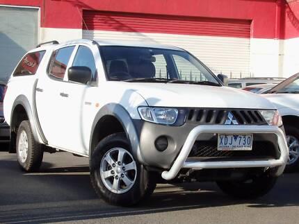 2009 Mitsubishi Triton GLX DUALCAB UTE *** $12,750 DRIVE AWAY *** Footscray Maribyrnong Area Preview