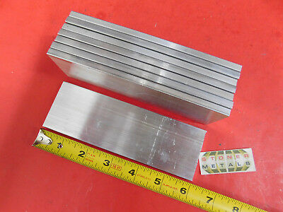 8 Pieces 14 X 2 Aluminum 6061 Flat Bar 6 Long T6511 Plate New Mill Stock