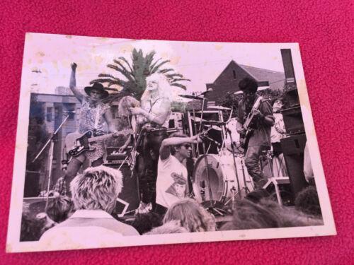 ORIGINAL vintage PHOTO live concert CLOCKWORK ORANGE t-shirt UNKOWN ROCK BAND