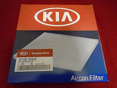 Genuine Kia Picanto 1.0 & 1.2 Pollen Filter 2011 - 2015 P/N 9713307010