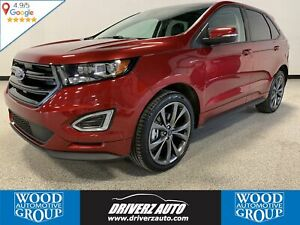 2018 Ford Edge Sport REMOTE START, CLEAN CARFAX, HEATED STEER...