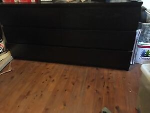 1 x chest of drawers 6 great sized drawers ikea excellent condition Enmore Marrickville Area Preview