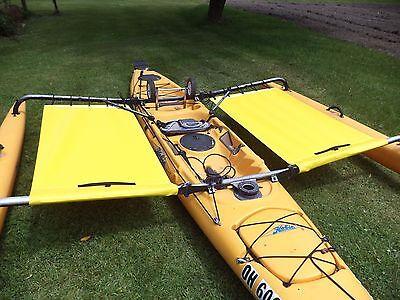 2015 and up Hobie  Adventure  island  Kayak Side Trampoline  yellow  segunda mano  Embacar hacia Argentina