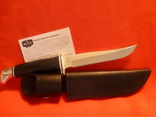 Buck 105BKS Pathfinder Fixed Blade Knife With Leather Sheath 105BKS USA -NIB