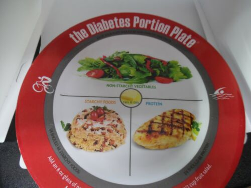 The diabetes portion plate- portion control  plate for dieting