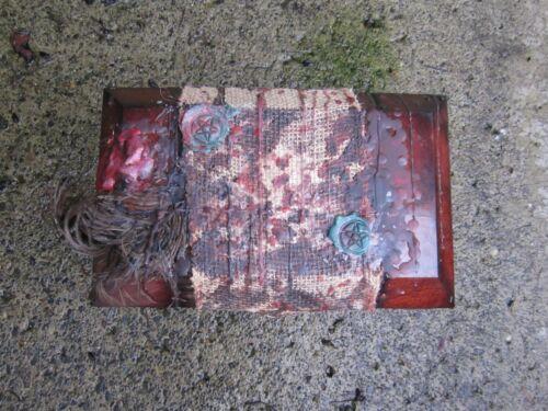 Haunted Active Large Pentagram  Dybbuk Box From Mississippi