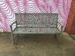 2X outdoor bench seats, outdoor seats, matching seats WE CAN DELIVER