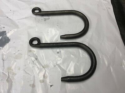2 Lmhe 214454 1580lbs Steel Foundry Lifting J-hook 78 X 9 Reach Usa