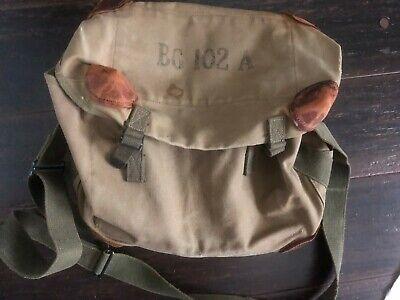 WWII ARMY HAVERSACK COMBAT FIELD PACK UNKNOWN ORIGIN
