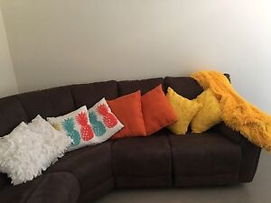Cushions and yellow throw rug for sale Gosnells Gosnells Area Preview