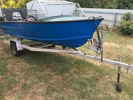 Tinny boat savage 14ft
