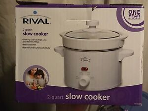 Brand new small crock pot  St. John's Newfoundland image 1