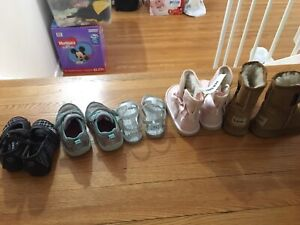 1-2 YR old Girl shoes boots sandal for sale