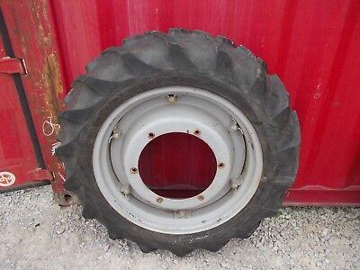 Ford 9n 2n Tractor Center Hub 11.2 X 28 45 Good Year Tread Tire 8n Lknw Rim