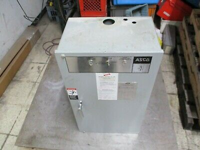 ASCO Automatic Transfer Switch C940315049XC 150A 208Y/120V 60Hz 3Ph 4W Used ()