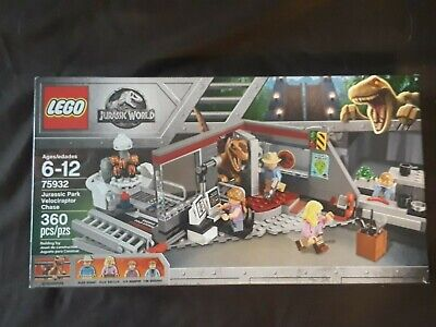 LEGO Jurassic World 75932 Jurassic Park Velociraptor Chase NEW/ SEALED/ RETIRED