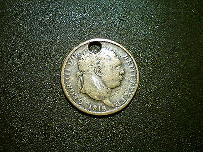 1819 GEORGE III BRITISH GB COIN