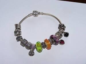 PANDORA (genuine) bracelet 15 charms Warrnambool Warrnambool City Preview