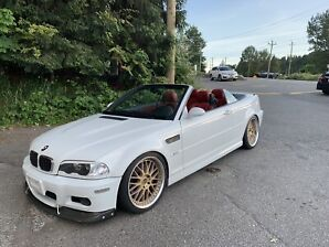 2004 BMW M3 Convertible Tastefully modded LOW KM