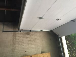 Garage door (double) 16 feet by 7 feet
