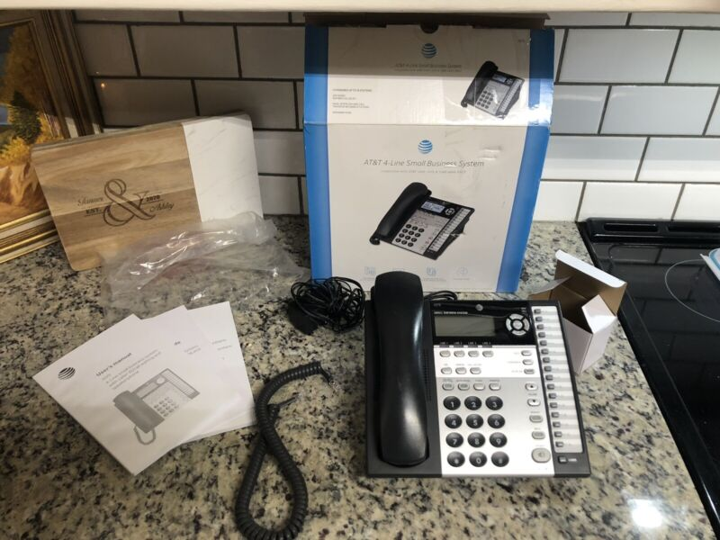 At&t 1070 4 Line Small Business Speaker Phone w/ power supply