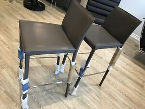 Two brand new modern Bar Chair 30 inches high