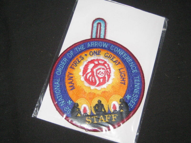 1992 NOAC Staff Pocket Patch      et