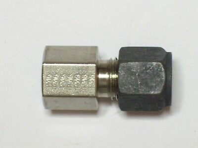 Parker Stainless Steel Cpi Connector 14 Tube X 18 Female Npt 4-2 Gbz-ss