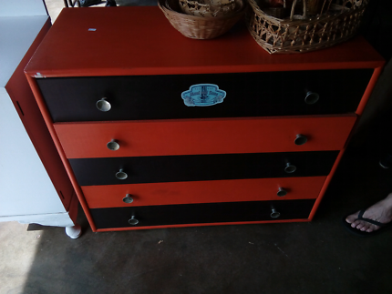 Retro set of drawers. Good used condition.