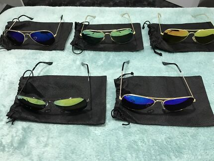 Airforce Aviators Sunglasses Mirror Tints New
