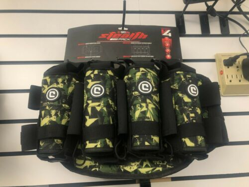 Critical V4 True Ejection Pod Pack Harness - Shattered Jungle Camo