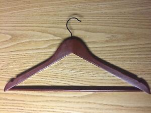 100+ Cherry-coloured wood hangers
