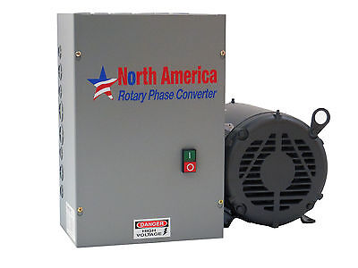 25hp Ul-listed Rotary Phase Converter - Model Ul-25 - New Free Shipping