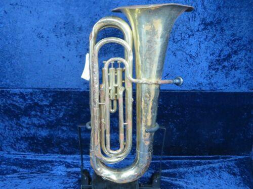Yamaha YBB-102 3 Valve Bell Up Piston 3/4 Tuba Ser#003155 with Stuck Mouthpiece