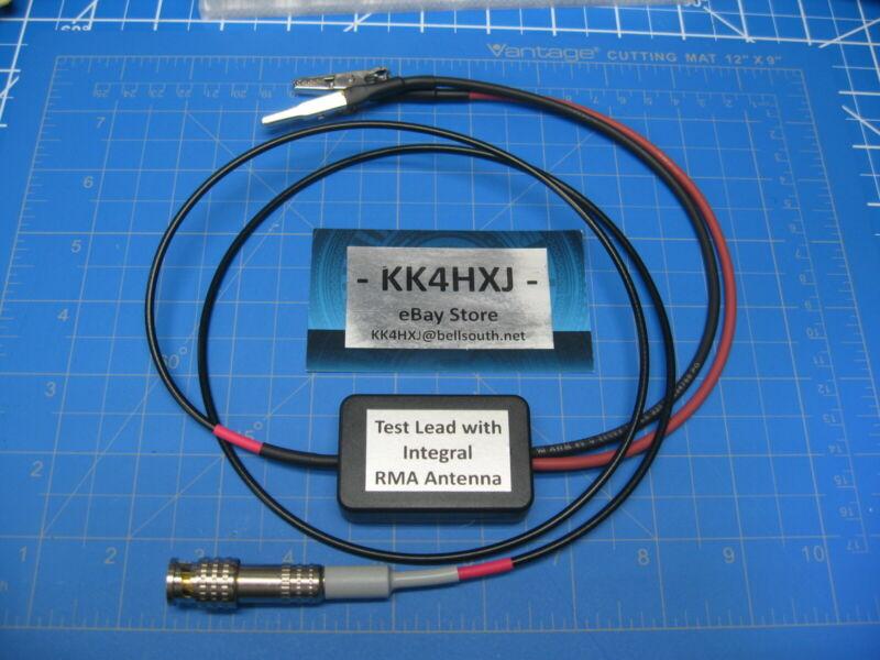 Custom Shielded Test Lead with Integral RMA/RTMA Antenna for Vintage Test Gear