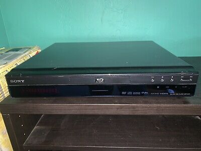 Sony BDP-S301 Blu-ray Disc Player Full HD 1080p No Remote Working