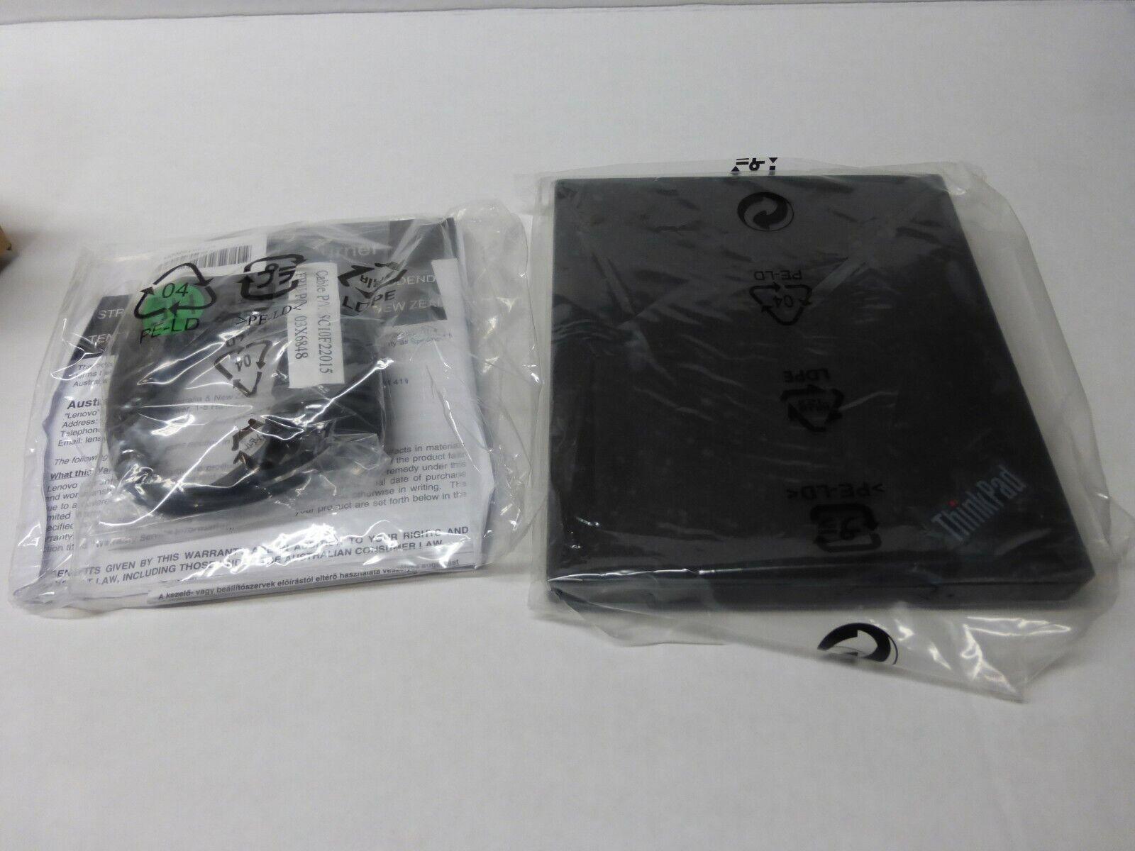 4XA0E97775 - ThinkPad UltraSlim USB DVD Burner Lenovo Brand