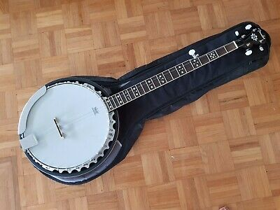 FENDER FB54  5 STRING BANJO  BEAUTIFUL TIME CAPSULE CONDITION