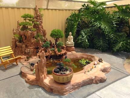 Hòn Non Bộ - Penjing - Fountain - Bonsai - Garden Design