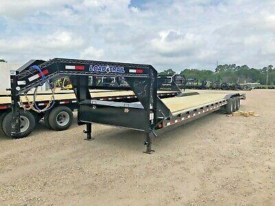 40 Foot Carhauler--equipment Gooseneck Trailer--load Trail-max Ramps--brand New