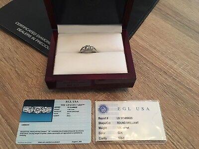 Diamond Engagement Ring Used size o