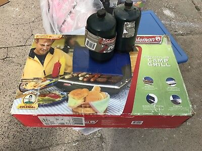 Coleman  2-Burner Tabletop Camp Grill Stove Propane
