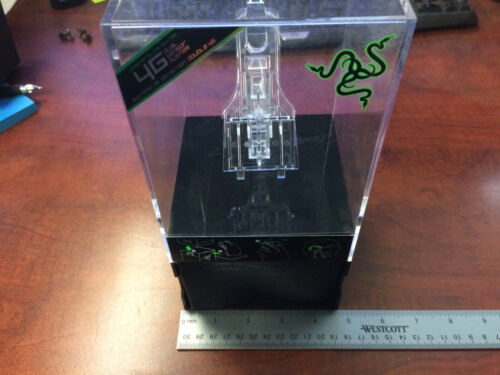 clear plastic display case with hollow bottom