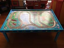 Wooden Thomas the tank engine table Maroubra Eastern Suburbs Preview