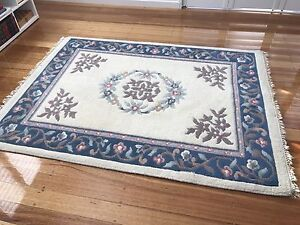 Pure wool rug exc condition$194 Sandy Bay Hobart City Preview