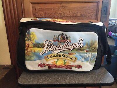 Leinenkugel's Summer Shandy Promo Cooler Ice Chest Roller Wheels Insulated Bag
