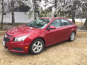 2014 Chevrolet Cruze LT2 loaded like new!!