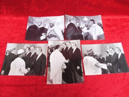 5+alte+Pressefotos__Politik__Staatsbesuche+aus+Afrika__23x18__original+Abzug+_%21