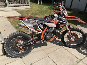 2017 ktm 300xc better than new trade atv can am ?
