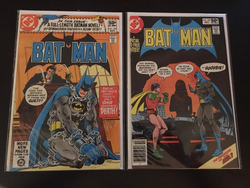 Batman 329 And 330